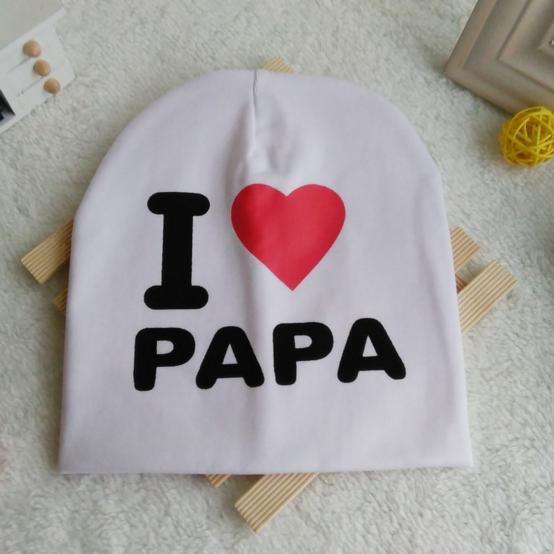 Шапка i love papa (07304)