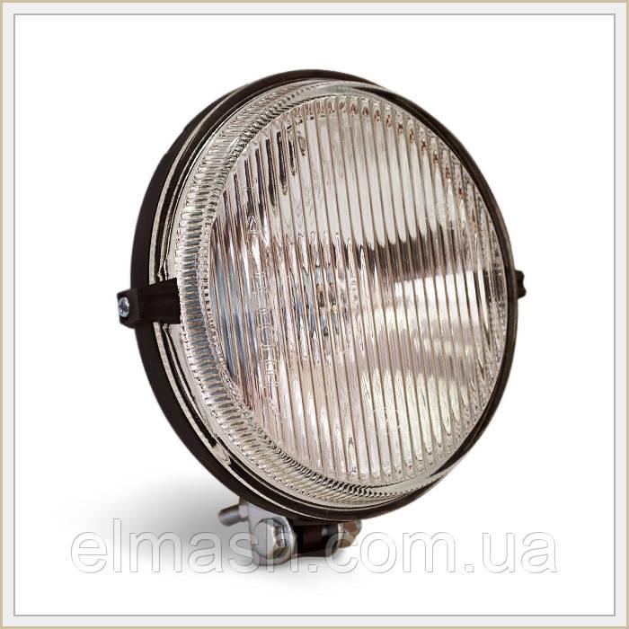 Фара противотуманная МТЗ круглая галогеновая лампочка (белое стекло) (пр-во Украина)