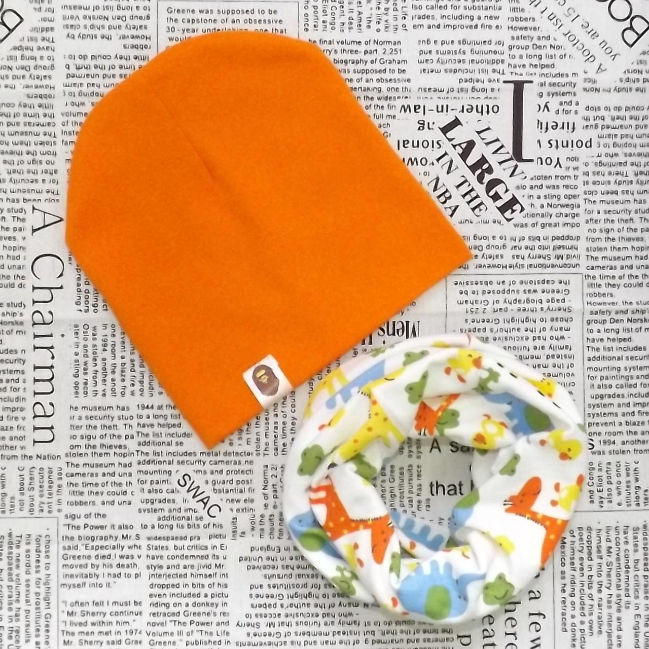 Демисезонный набор: детская шапка Варе и снуд (07329)