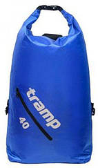 Гермомешок (рюкзак) Diamond Rip-Stop 40л. оливковый Tramp TRA-257-olive 0,44, Синий