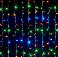 Гирлянда-штора большая разноцветная