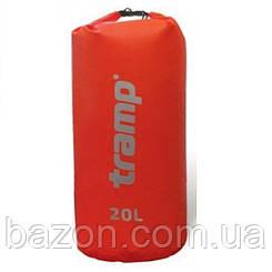 Гермомешок Nylon PVC 20л. красный Tramp TRA-102
