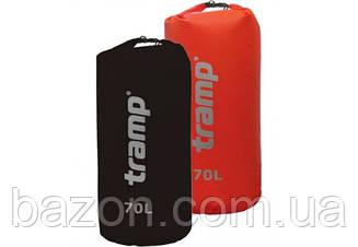Гермомешок Nylon PVC 20л. красный Tramp TRA-102 70, Черный