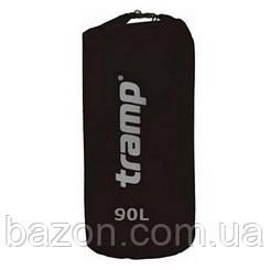 Гермомешок Nylon PVC 20л. красный Tramp TRA-102 90, Черный