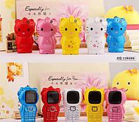 Мобильный телефон для маленькой принцессы Hello Kitty H100  (хелло китти на 1 сим-карту)