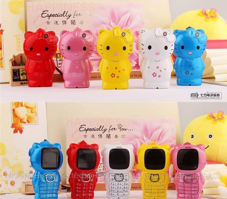 Мобильный телефон для маленькой принцессы Hello Kitty H100  (хелло китти на 1 сим-карту) - Мобильные телефоны, смартфоны, планшеты, ювелирные весы, домофоны в Харькове
