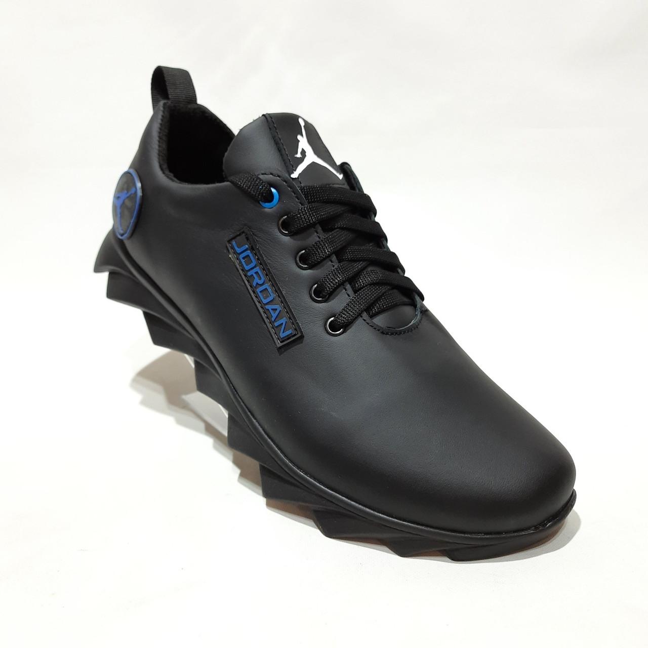 Чоловічі кросівки весняні шкіряні, в стилі Джордан