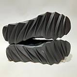 Чоловічі кросівки весняні шкіряні, в стилі Джордан, фото 7