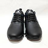 Чоловічі кросівки весняні шкіряні, в стилі Джордан, фото 4