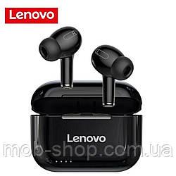 Бездротові навушники Lenovo LP1 black Bluetooth навушники з блютузом