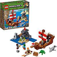 Конструктор Лего Майнкрафт 21152 Приключения на пиратском корабле LEGO Minecraft The Pirate Ship Adventure