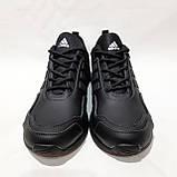 Чоловічі кросівки весняні шкіряні, в стилі Адідас Terrex легкі, фото 3