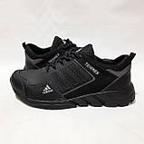 Чоловічі кросівки весняні шкіряні, в стилі Адідас Terrex легкі, фото 6