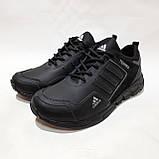 Чоловічі кросівки весняні шкіряні, в стилі Адідас Terrex легкі, фото 4
