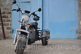 Электроскутер Трицикл City Coco 2000W (2АКБ 60V20Ah) Титаны R10