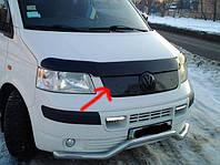 Зимняя решетка Volkswgen T5 (фольксваген Т5) верхняя. Пластик