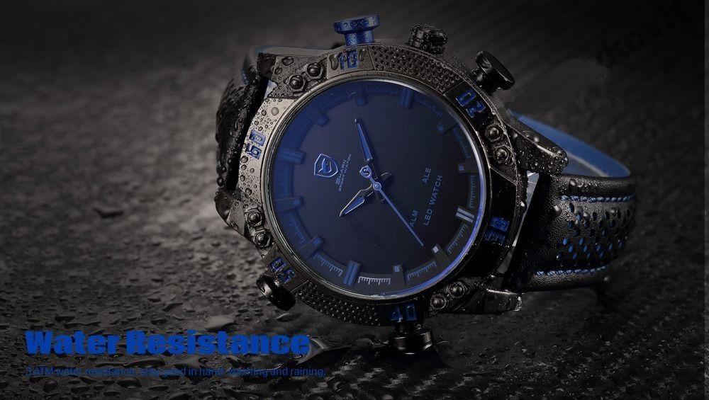 2e7ff91e5120 Мужские часы SHARK LED Digital Blue Sport Watch  продажа, цена в ...
