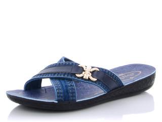 Шльопанці жіночі Sali-340 синій