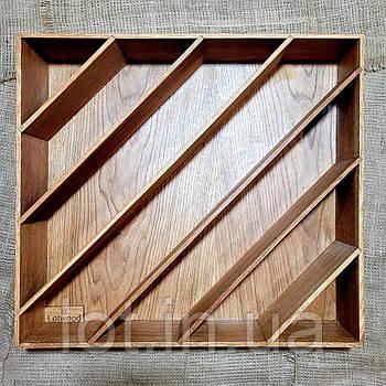 Лоток диагональный для столовых приборов от 350мм (индивидуальные размеры)