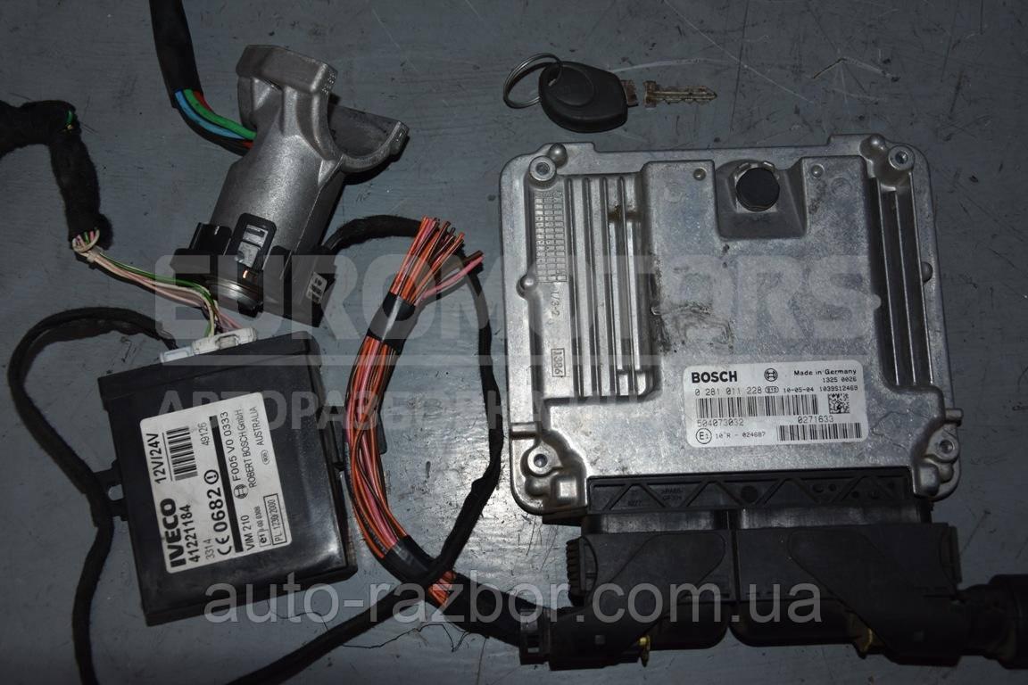 Блок управління двигуном комплект Iveco Daily (E3) 1999-2006 2.3 hpi, 3.0 hpi 0281011228