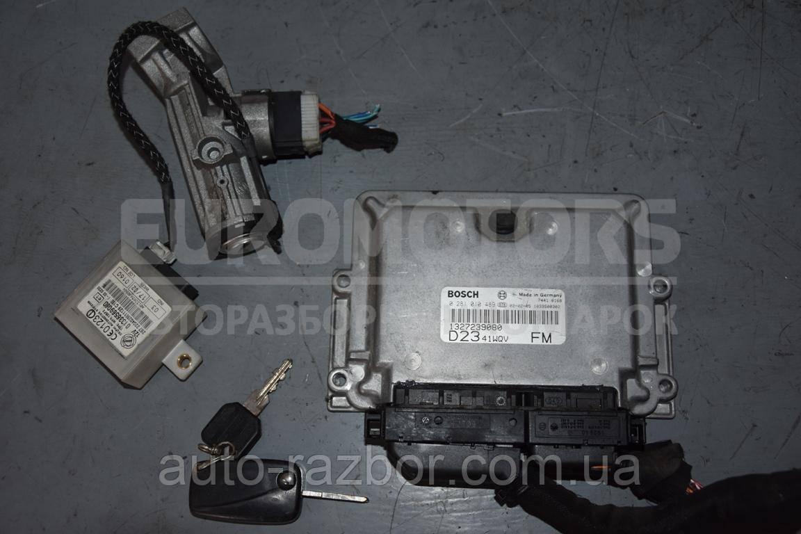 Блок управління двигуном комплект Citroen Jumper 2002-2006 2.3 jtd 0281010489