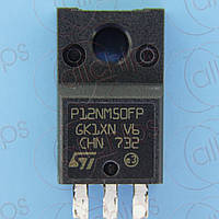 MOSFET N-канал N-канал 550В 12А 350мОм STM STP12NM50FP TO220F