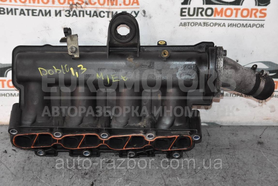 Колектор впускний пластик Fiat Doblo 2000-2009 1.3 MJet 55189595