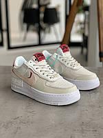 Кроссовки Nike Air Force 1 Shadow Найк Аир Форс 1 (36,37,38,39,40) 38