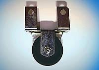 Мебельный ролик с боковым креплением Н-50 мм, пластмассовый