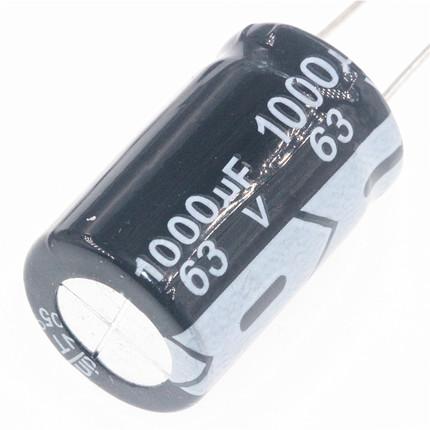 Конденсатор 1000uF 63V 1000мкФ 63В