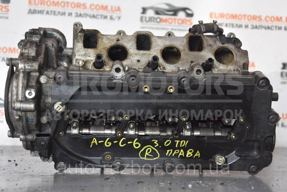 Головка блоку в зборі права Audi A4 (B7) 2004-2007 2.7 tdi, 3.0 tdi 0594AF
