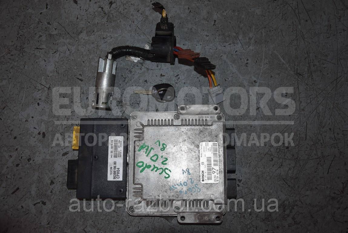 Блок управління двигуном комплект Citroen Jumpy 1995-2007 2.0 jtd 8V 0281011342