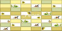 """Декоративная Пластиковая Листовая ПВХ панель на стену 957 х 477мм Регул Плитка"""" Арома"""" для кухни 177а"""