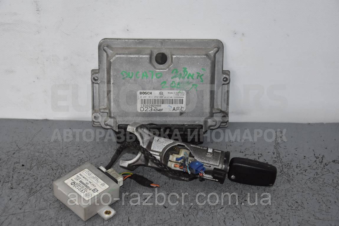 Блок управління двигуном комплект Peugeot Boxer 2002-2006 2.3 jtd 0281011052