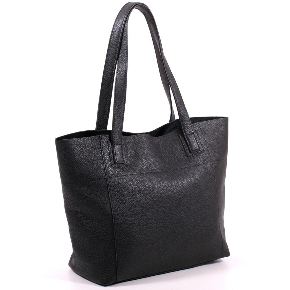 Женская кожаная сумка 03 черный флотар 01030101