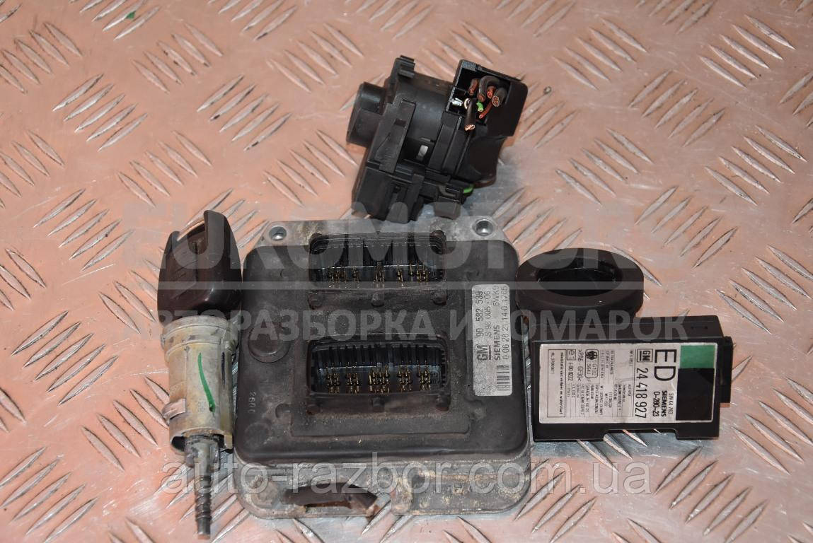 Блок управления двигателем комплект Opel Zafira 1.8 16V (A) 1999-2005 90582539 114201