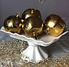 Порцеляновий фруктовниця Гофре 25,5 см