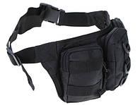 Поясная сумка №6 черная