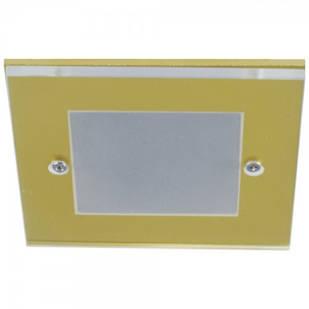 Вбудований світильник Feron DL168 золото
