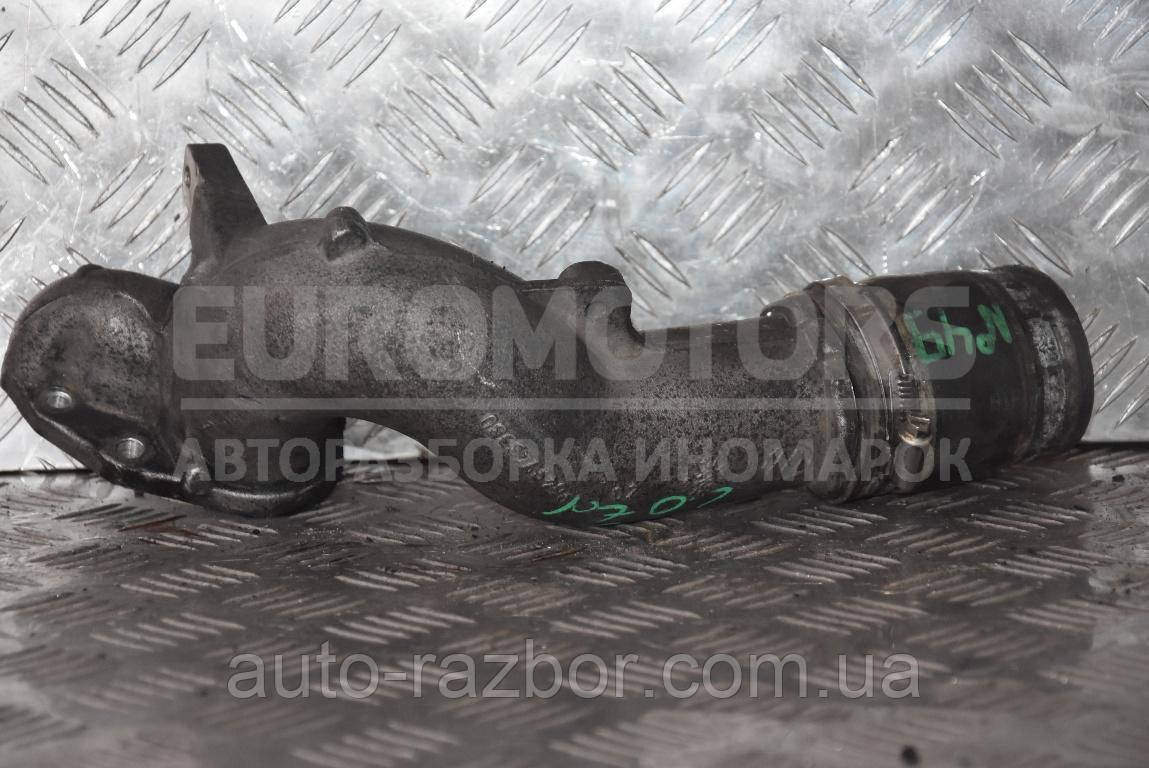 Патрубок впускного колектора метал Citroen Jumpy 1995-2007 2.0 jtd 8V 9649743380