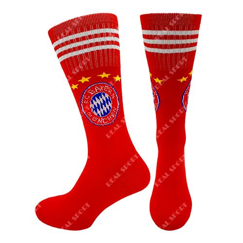 Гетры футбольные детские Бавария FB-0206, р. 32-38