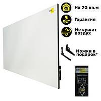 Керамический обогреватель Emby CHT-1000 белый с терморегулятором на 20 кв.м