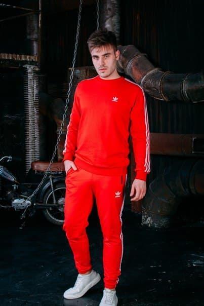 Чоловічий спортивний костюм Adidas (три кольори)