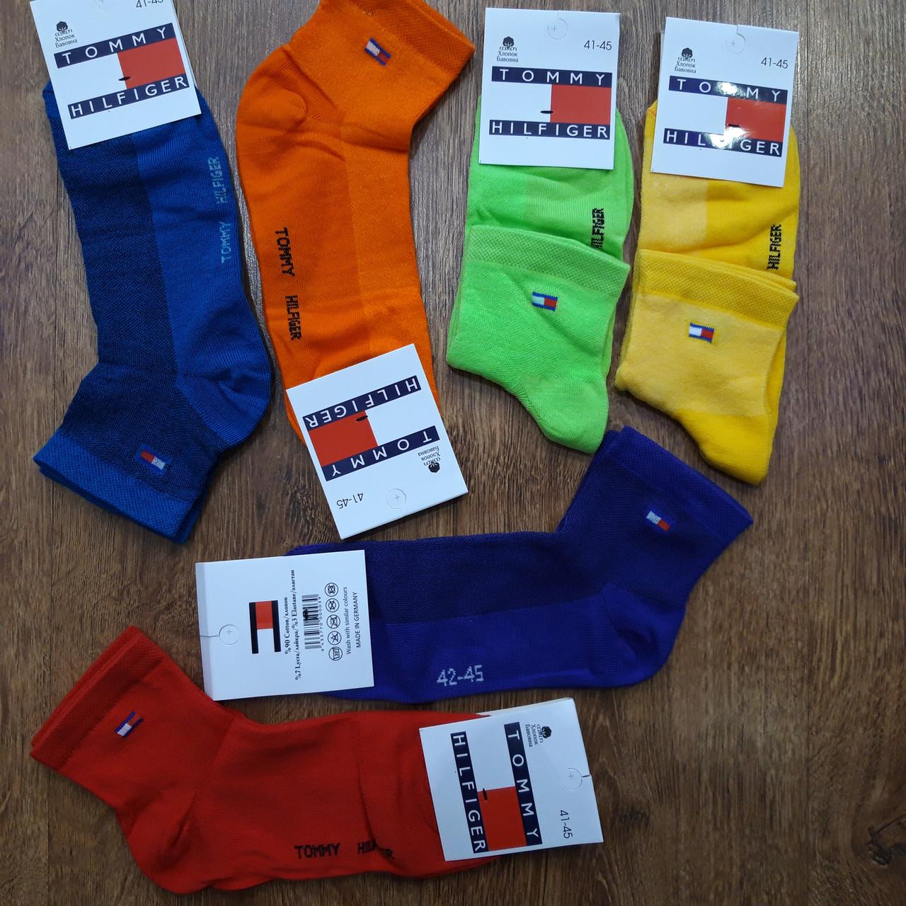 """Чоловічі шкарпетки(сітка) в стилі """"Tommy Hilfiger"""" Туреччина оригінал 41-45"""