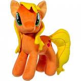 Мягкая игрушка лошадка Пони розовая Пинки, фото 3