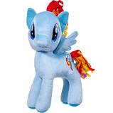 Мягкая игрушка лошадка Пони розовая Пинки, фото 6