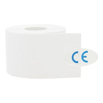 Кинезиологический тейп, кинезио тейп 5cм*5м 🍓 Белый (MR)
