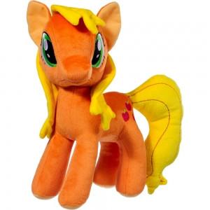 Мягкая игрушка Пони оранжевая