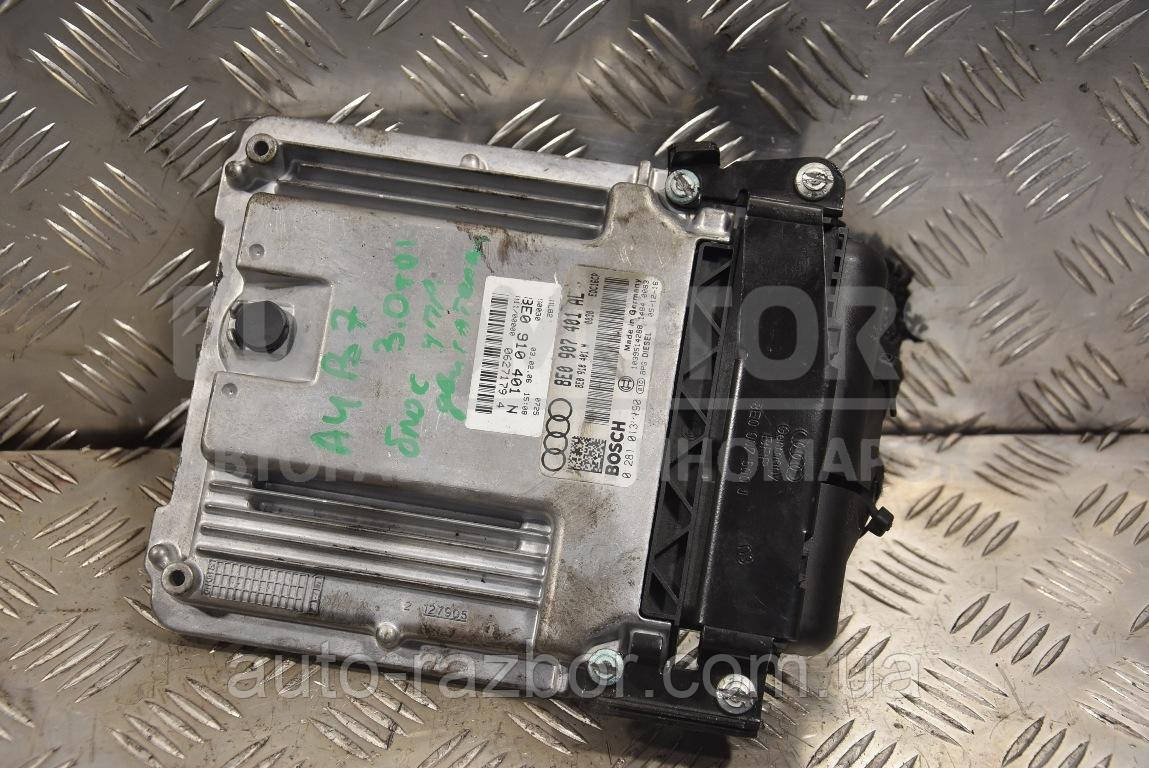 Блок управления двигателем Audi A4 3.0tdi (B7) 2004-2007 8E0907401AL 127417