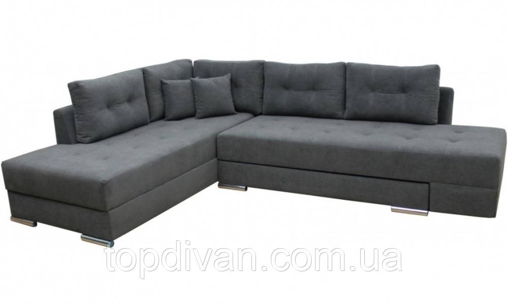 """Кутовий диван """"Прінстон"""". Donna 18. Габарити: 2,95 х 2,10 Спальне місце: 2,00 х 1,60"""